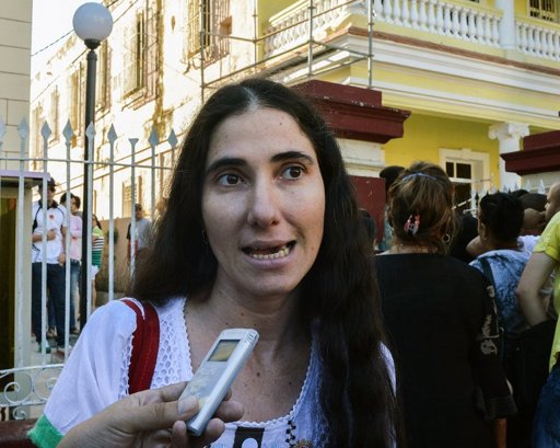 Cuban opposition blogger Yoani Sanchez -AFP