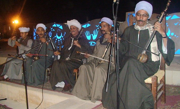 Ezz El-Din Nasr and his band Courtesy of the Egyptian Folk Encyclopedia Project