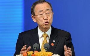 United Nations Secretary General Ban Ki-moon  (AFP File Photo)