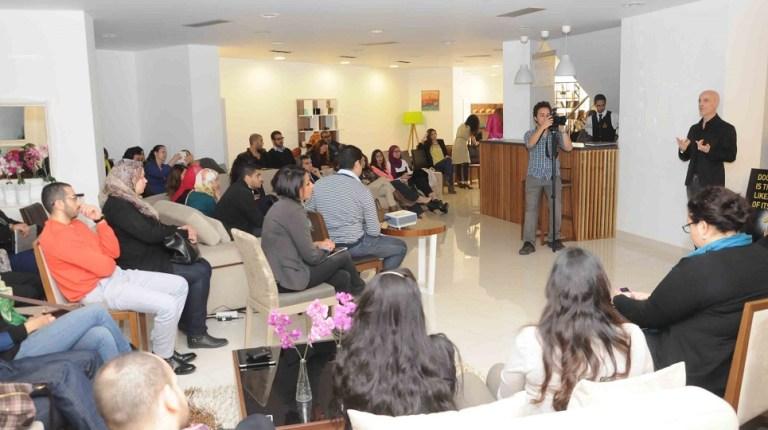 Federico Delrosso addresses Egyptian designers