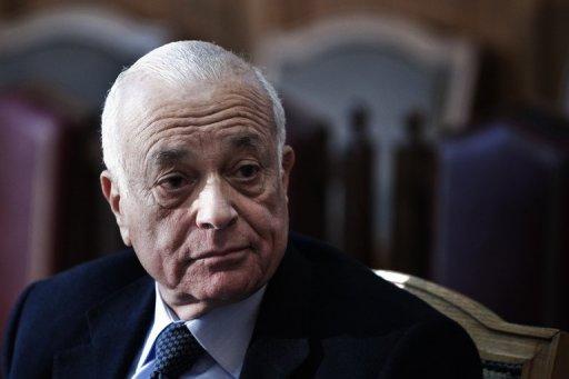 Arab League Secretary General Nabil El-Araby  (AFP Photo)