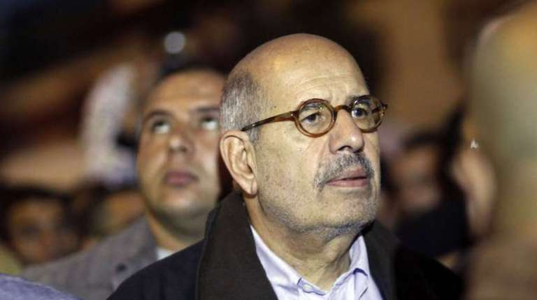 The June 30 Front along with the National Salvation Front (NSF) nominated Mohamed ElBaradei as the representative of the opposition in talks with the government to solve the current situation.(AFP Photo)