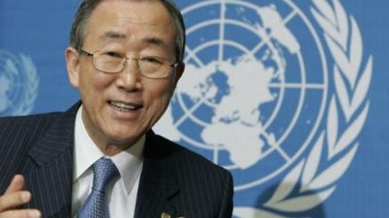 The United Nations Secretary General Ban Ki Moon (AFP File Photo)
