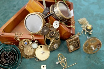 steampunk jewelry, 11/9/12
