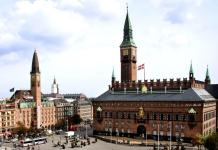 City Hall Square in Copenhagen