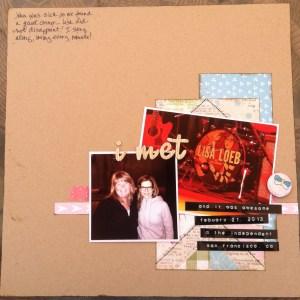 LOAD514 – Day Twenty-One, I met Lisa Loeb