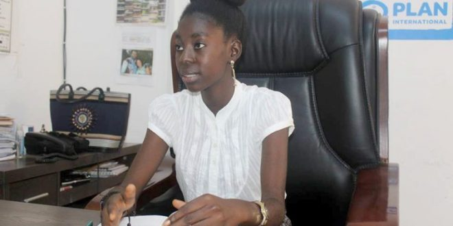 ONU RCA : A seulement 17 ans elle est directrice de PLAN international, mais....