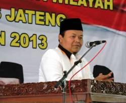 Ketua Fraksi Partai Keadilan Sejahtera, Hidayat Nur Wahid membuka Musyawarah Kerja Wilayah (Muskerwil) DPW PKS Jateng, Sabtu (12/1) siang di Kajen, Pekalongan. (ist)