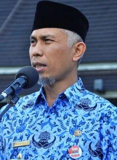 Walikota Padang, Mahyeldi Ansharullah.(padang-today.com)