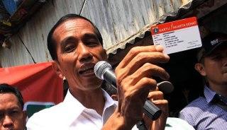 Jokowi promosi Kartu Jakarta Sehat. (esq-news.com)