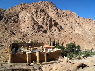Kaki Bukit Tursina, Sinai-Mesir (inet)