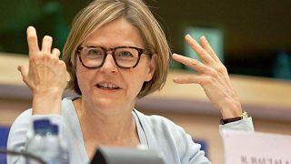 "Menteri Kerjasama Internasional Finlandia, ""Heidy Hautala"""