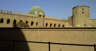 Salah satu sudut masjid di Mesir