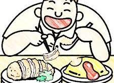 Pola makan sehat (inet)