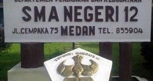 Ilustrasi – SMA Negeri 12 Medan. (twitter.com/SMANegri12Medan)