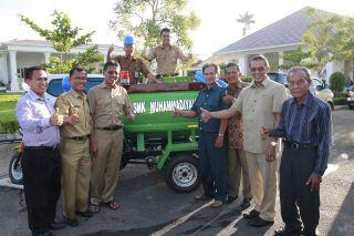 Motor Pemadam Kebakaran Karya Siswa SMK 1 Muhammadiyah Padang