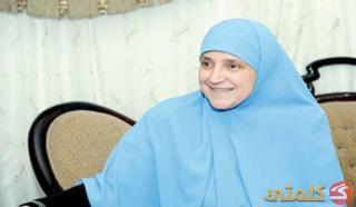 Najla Mahmud, istri Presiden Mursi