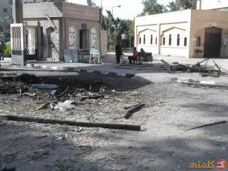 Sisa-sisa penyerangan mahasiswa di asrama mahasiswa Al-Azhar Rabu (20/11/2013) malam. (rassd)