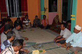 Herlini Amran Anggota Fraksi Partai Keadilan Sejahtera saat silaturahim dengan warga TMK, jumat (7/2)