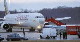 Pesawat Ethiopia di bandara Roma (nefosnews.com)