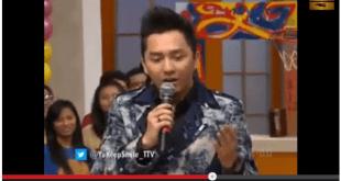 Omesh, Presenter Yuk Keep Smile (YKS) saat tampil pada 23/1 (foto: youtube.com)