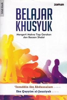 """Cover buku """"Belajar Khusyuk""""."""