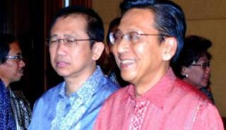 Ketua DPR MArzuki Alie dan Wapres Boediono - Foto: viva.co.id