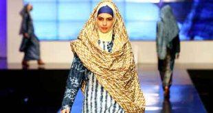 Salah satu hasil rancangan Windri Widiesta Dhari, perancang busana muslim dan pemilik NurZahra - (foto: bisnis.com)