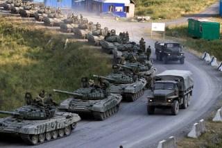Pasukan Rusia di perbatasan Ukraina (sdelanounas.ru)