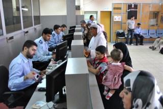 Suasana imigrasi Palestina di Perbatasan Rafah (alresalah.ps)