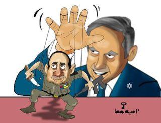 Karikatur tentang kepentingan Israel di balik As-Sisi (alkhabarnow.net)