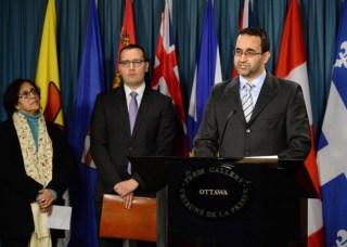 Ihsaan Garde, direktur NCCM (ipolitics.ca)