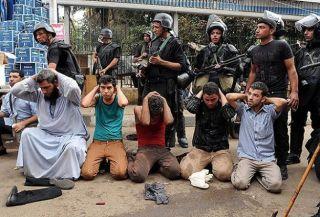Polisi kudeta melakukan penangkapan luas terhadap penentang kudeta di Mesir (felesteen.ps)