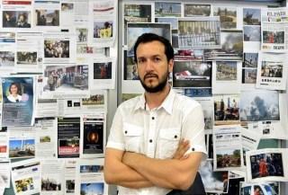 Wail Isham, koresponden perang asal Palestina (Anadolu)