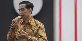 Joko Widodo saat tampil pada Debat Capres ke-3, Ahad 22/6/14.  (kompas.com)