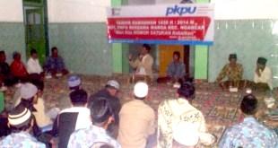 Tarhib Ramadhan PKPU dan Komunitas ODOJ bagi warga sekitar Kelud. RAbu (18/6/14).  (Bram/Sunu/pkpu)