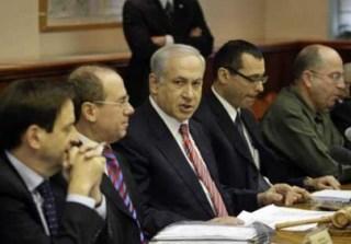 Netanyahu dalam salah satu rapat kabinetnya (arsip - paltimes.net)