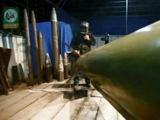 Roket-roket yang dirakit rakyat Palestina di Jalur Gaza (paltimes.net)