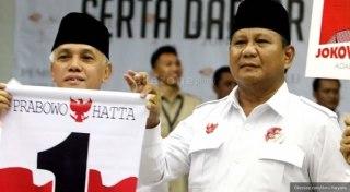 Pasangan Capres-Cawapres Pilpres 2014, Prabowo-Hatta. (Okezone)