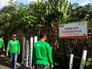 Kebun Gizi Kahuripan di Kampung Parang Makassar.  (sayasih/rz)