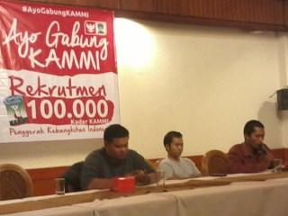 "Launching program ""Rekrutmen 100.000 Kader KAMMI Penggerak Kebangkitan Indonesia"".  (PP KAMMI)"