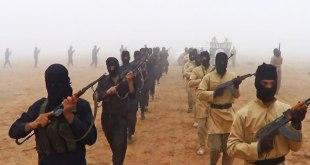 Ilustrasi - Pasukan organisasi ISIS. (alarabiya.net)