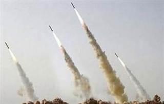 Gambar arsip, tembakan roket-roket pejuang Palestina (islammemo.cc)