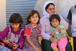 Wanita etnis Yazidi yang mengungsi ke Turki (Anadolu)