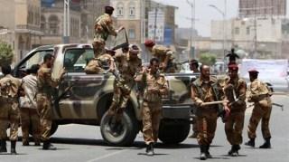 militer Yaman di San'a (marebpress.net)