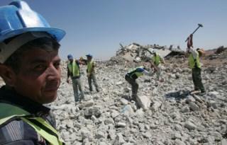 Serangan udara Israel hancurkan gedung-gedung di Jalur Gaza (safa.ps)