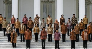 Kabinet Kerja Jokowi-JK (inet)