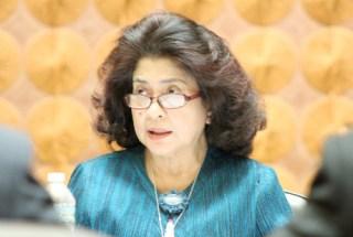 Menteri Kesehatan, Prof Nila Djuwita F Moeloek, SpM(K) . (Kemenkes)