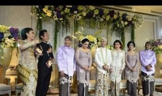 Pernikahan Raffi Ahmad dan Nagita Slavina. (ROL)