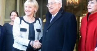 Mahmud Abbas di Swedia. (Palestine Times)